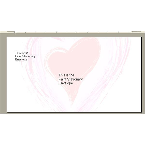 ... Day Envelopes in Microsoft Word for Your Homemade Stationery and Cards