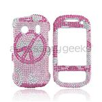 Samsung Seek Pink jewel peace plastic case