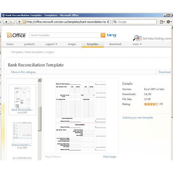 Use a Microsoft Excel Reconciliation Template to Help Your Finances – Reconciliation Template