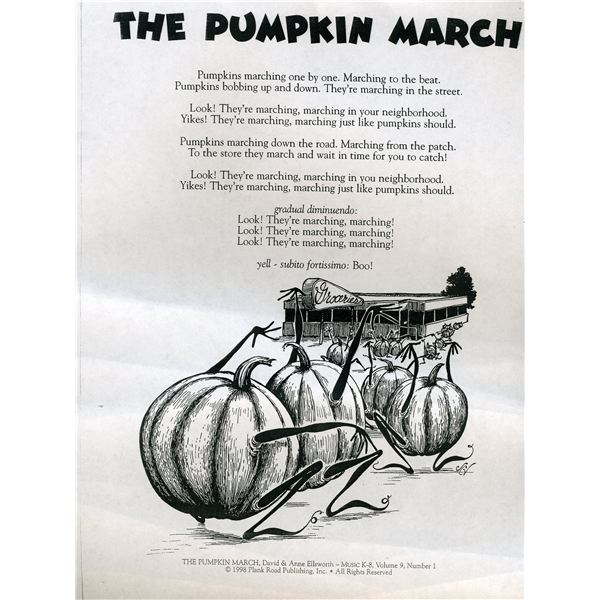 lyrics and books - Halloween Songs For Preschoolers