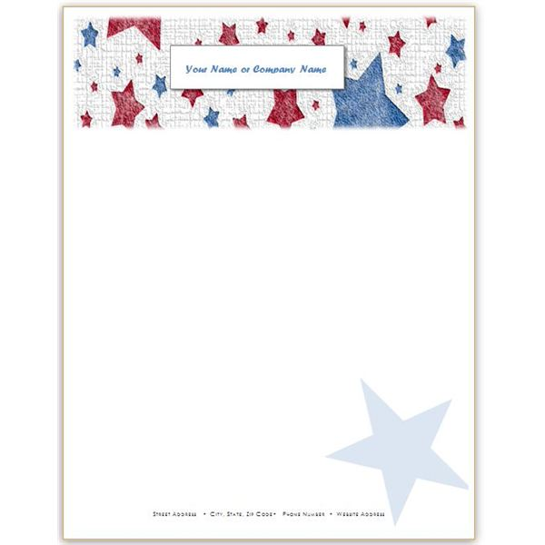 10 patriotic templates for ms word  perfect for july 4th  memorial day and more