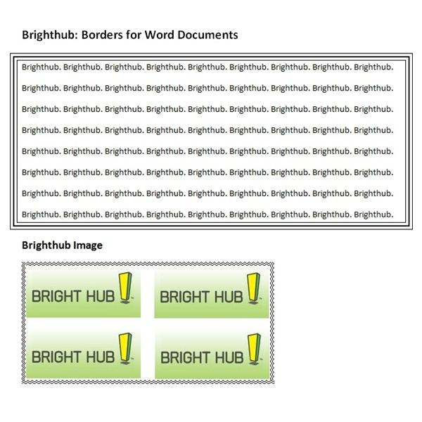 the complete guide to borders for word documents