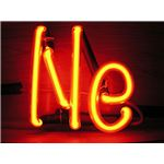 The element symbol for Neon.