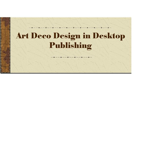 Art Deco Design How To Recognize Use It In Your Projects