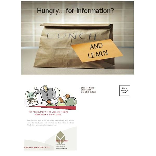 Free Business Lunch and Learn Invitation Forms Options for MS – Lunch Invitation Templates