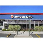 Front of Burger King by Morton Fox