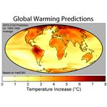 Global Warming Predictions Map