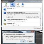 Uninstall .net framework assistant from firefox
