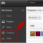Do.com includes tools for managing contacts and deals.