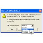 Outlook Allow Access