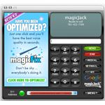 Magicjack screen from a Macintosh Computer. It's not running Linux