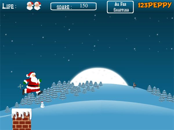 Santa Claus Jumping Game