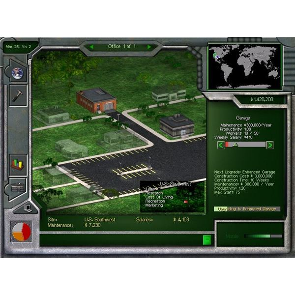 Review of the retro corporate empire strategy game for Business tycoon