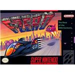 F-Zero - Original Super Nintendo Box Art