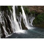 Burney Falls by Agreene12 Wikimedia Commons