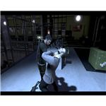 Sam Fisher interrogates a villain in Tom Clancy's Splinter Cell: Conviction