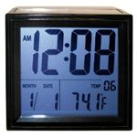 Advance Time Technology Solar-Powered LCD Alarm Clock