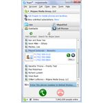 Figure 2 - Outlook Contacts in Skype