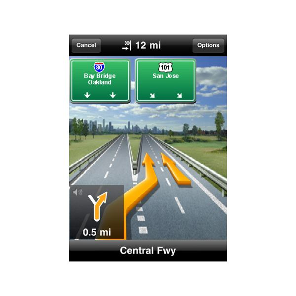 Navigon mobile navigator north america v1.5.1 iphone ...