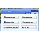Advanced Office Repair's User Interface in Vista