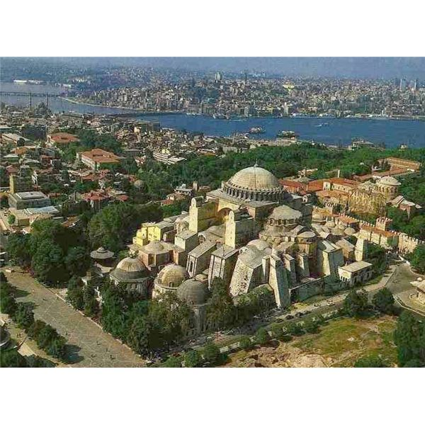 The most important buildings of early christian, byzantine, and islamic cultures essay