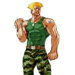 Guile's Alpha artwork