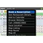Poynt BlackBerry Storm App