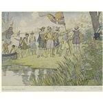 745px-Captain John Smith landing in Jamestown