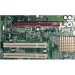 AGP and PCI - Motherboard slot type and expansion card.