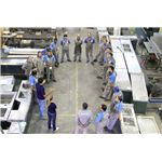 Training meeting in an Ecodesign Stainless Steel Company in Brazil
