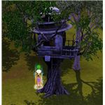 The Sims 3 tree house
