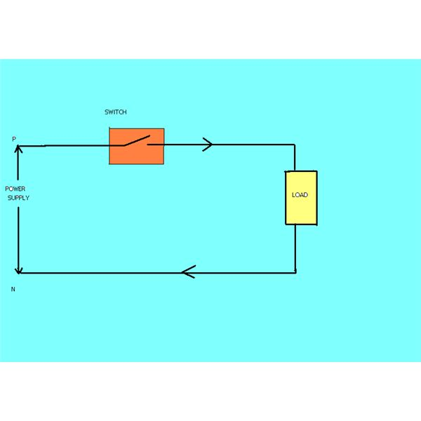 simple electric circuits diagrams switch circuit