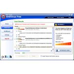 Free antivirus and trojan removers: PC Tools AV