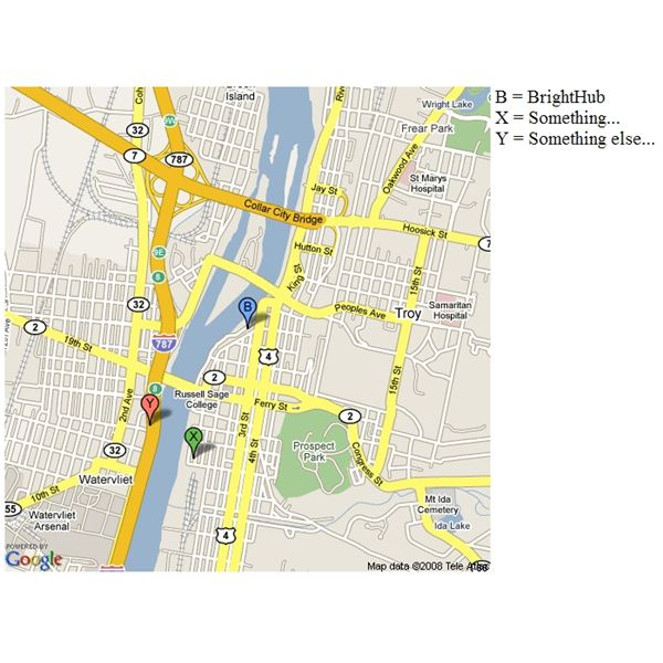 Learn How to Use Google Maps API: Using Simplified Static Maps
