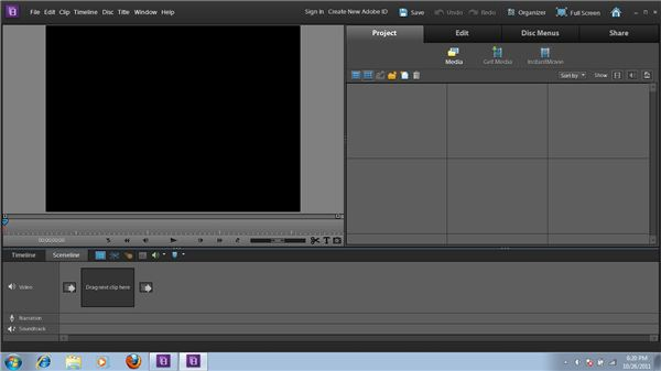Adobe Premiere Elements 10 User Interface