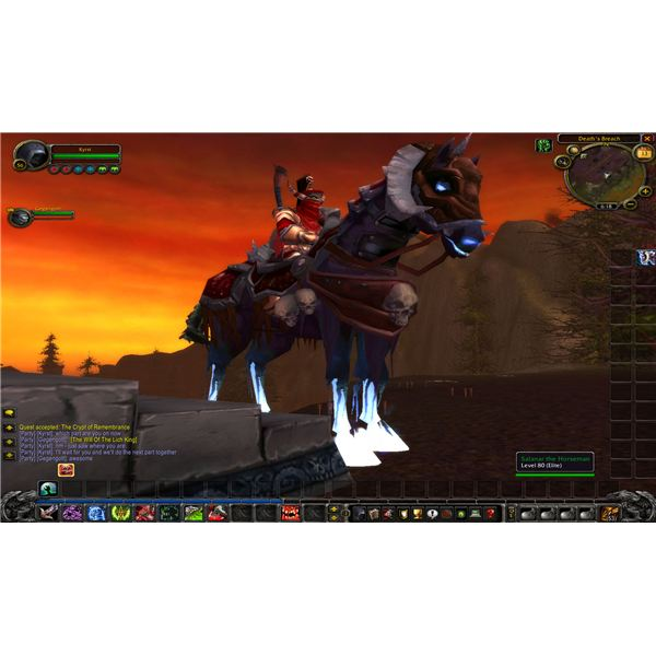 how to get death knight class mount