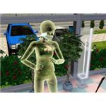 Sims 3 Death and Ghosts Guide Yellow Electrocution Ghost