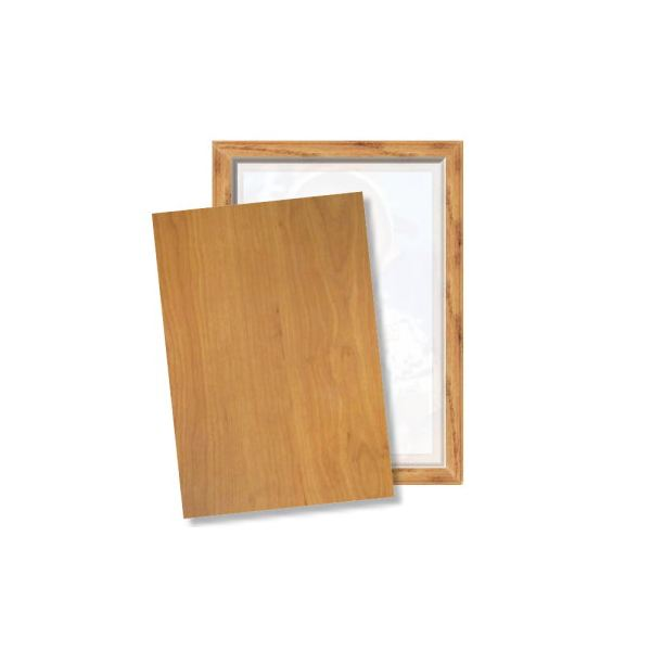 cover the back of the picture frame with the wood sheet - Wooden Picture Frames