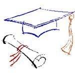 Diploma and cap