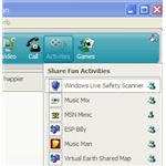 Activities in Windows Live Messenger