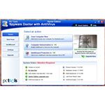 User Interface of Spyware Doctor Free