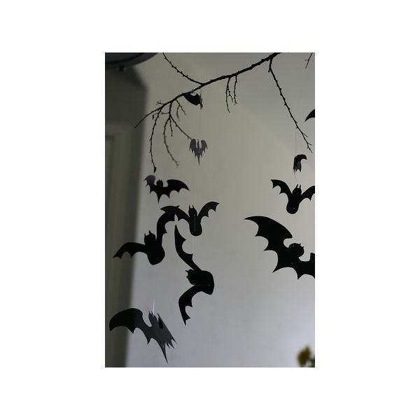 Halloween Bat Templates For Invitations Party Flyers Decorations