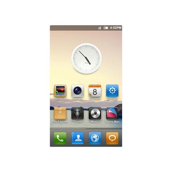 A Look At The Miui Android Rom On The Galaxy S picture wallpaper image