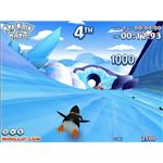 Penguin Rush Flash Game - Christmas Fun