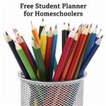 How do you organize your homeschooling goals and lesson plans?