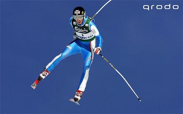 Mid-Air Ski Jump