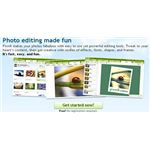 Picnik Review-website view