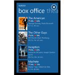 Flixster Windows Phone 7 video app
