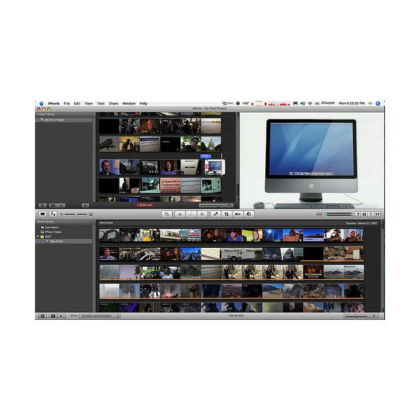 Imovie 8 for windows 7 for Trailer templates for imovie