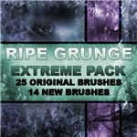 Ripe Grunge Extreme Brush Pack